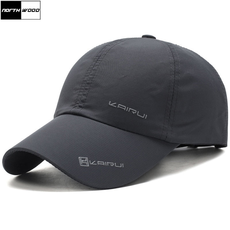 [NORTHWOOD] Solid Summer Cap Branded Baseball Cap Men Women