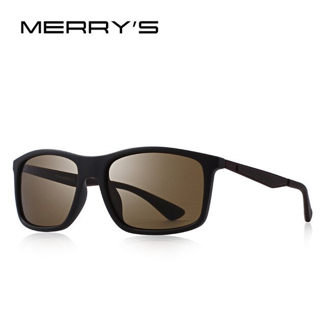 MERRYS DESIGN Men Classic Polarized Sunglasses TR90 Legs Outdoor Sports Ultra-light Series 100% UV Protection S8161