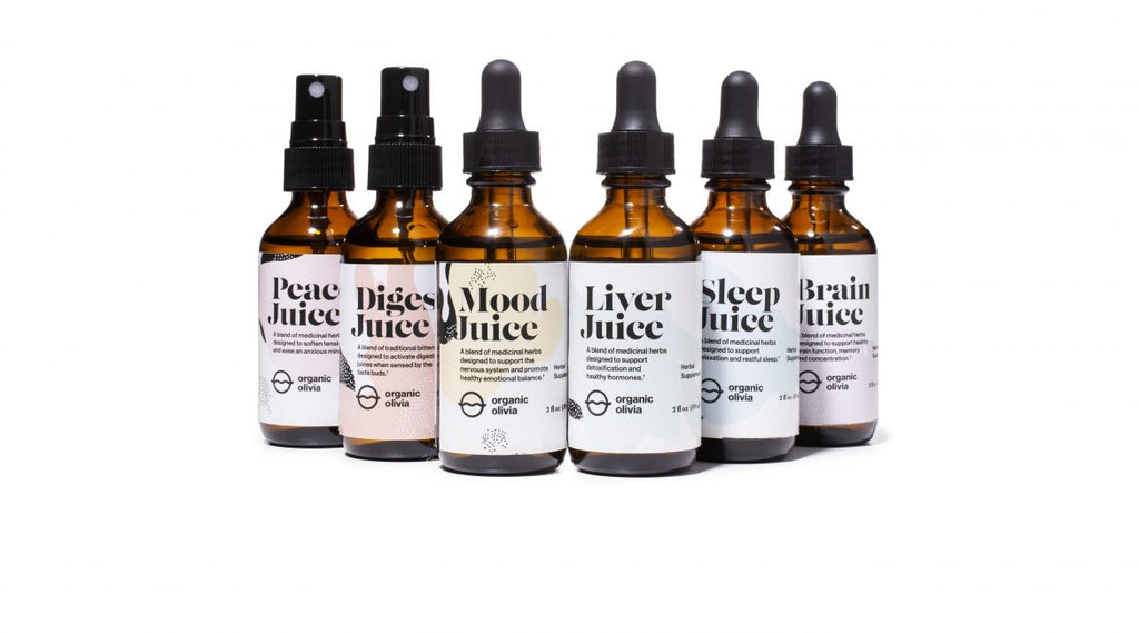 Introducing The New Herbal Tinctures By Organic Olivia