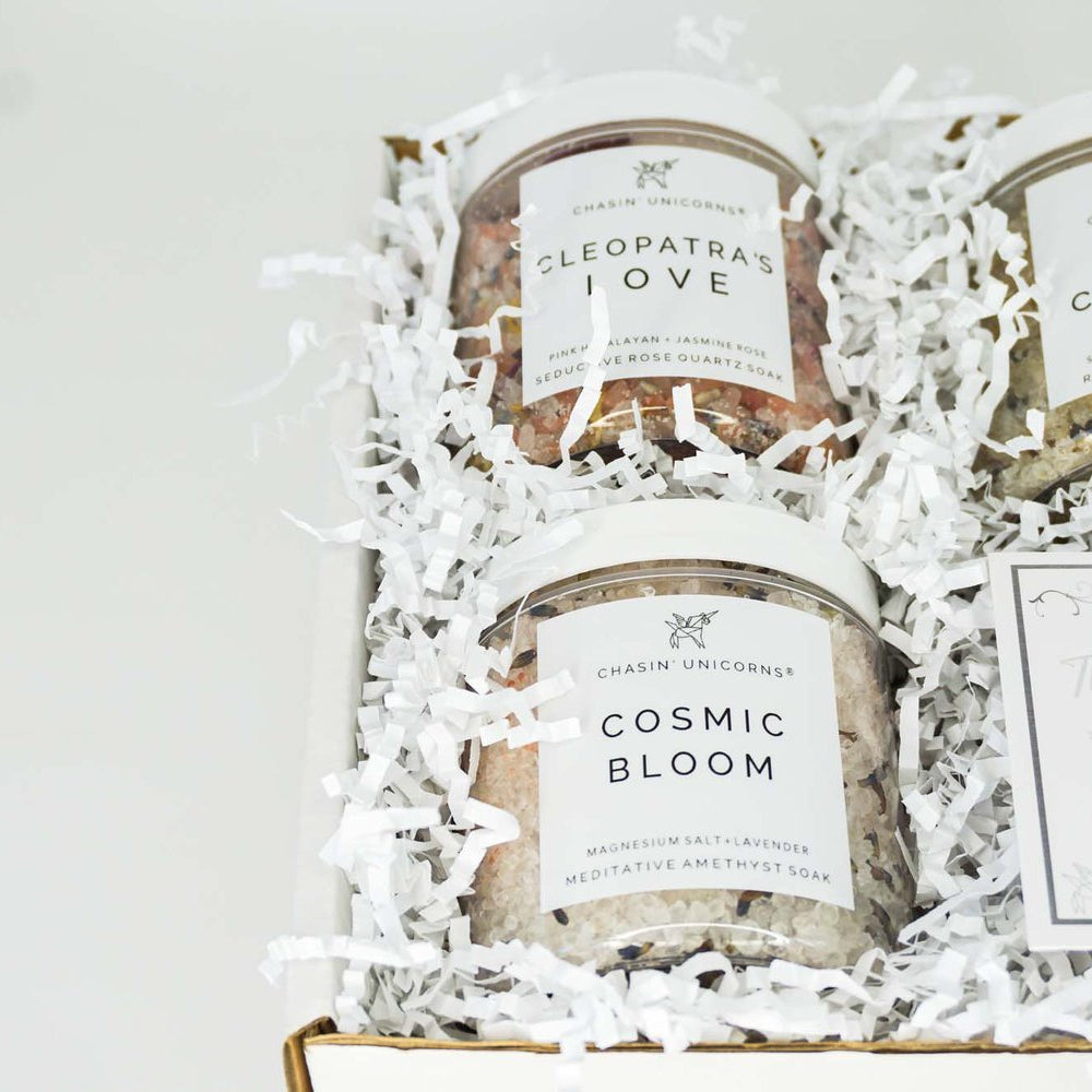 The Crystal Bath Salt Sampler
