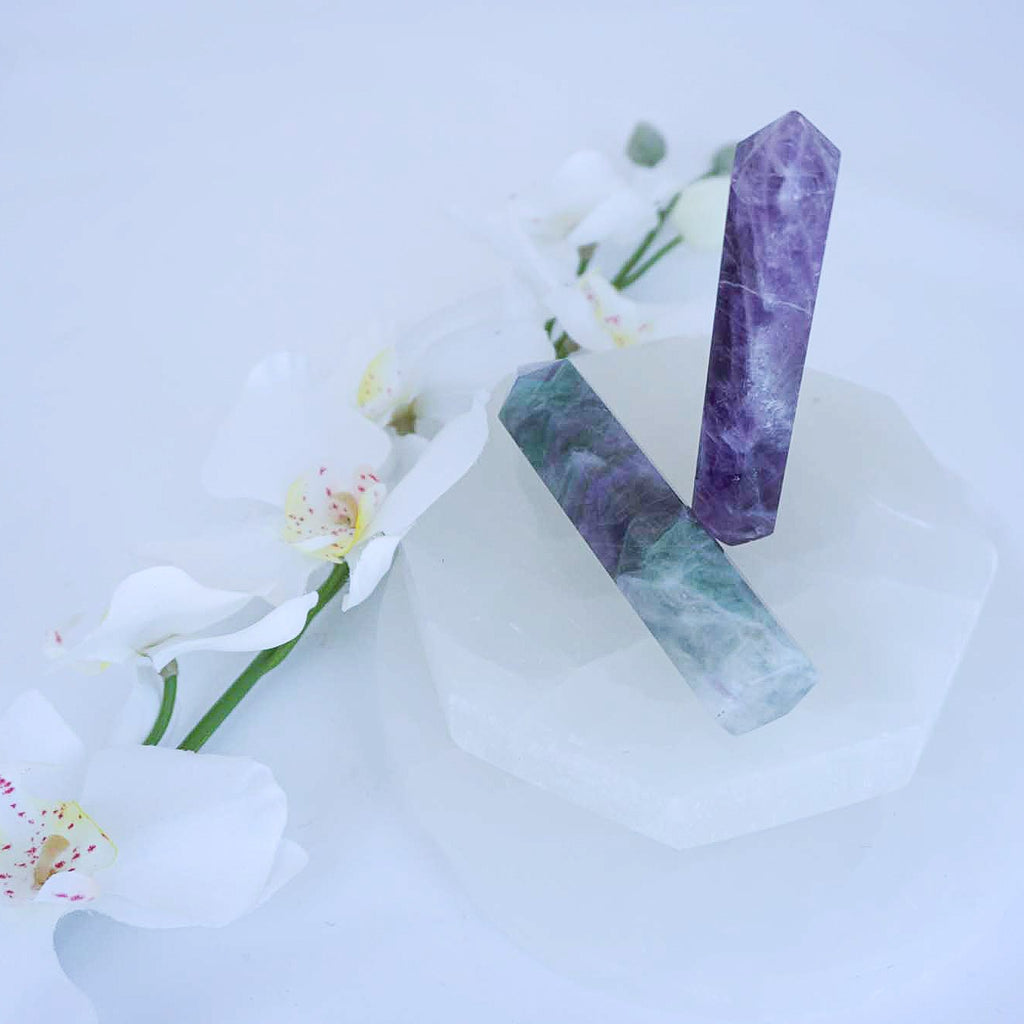 Fluorite Crystal Points