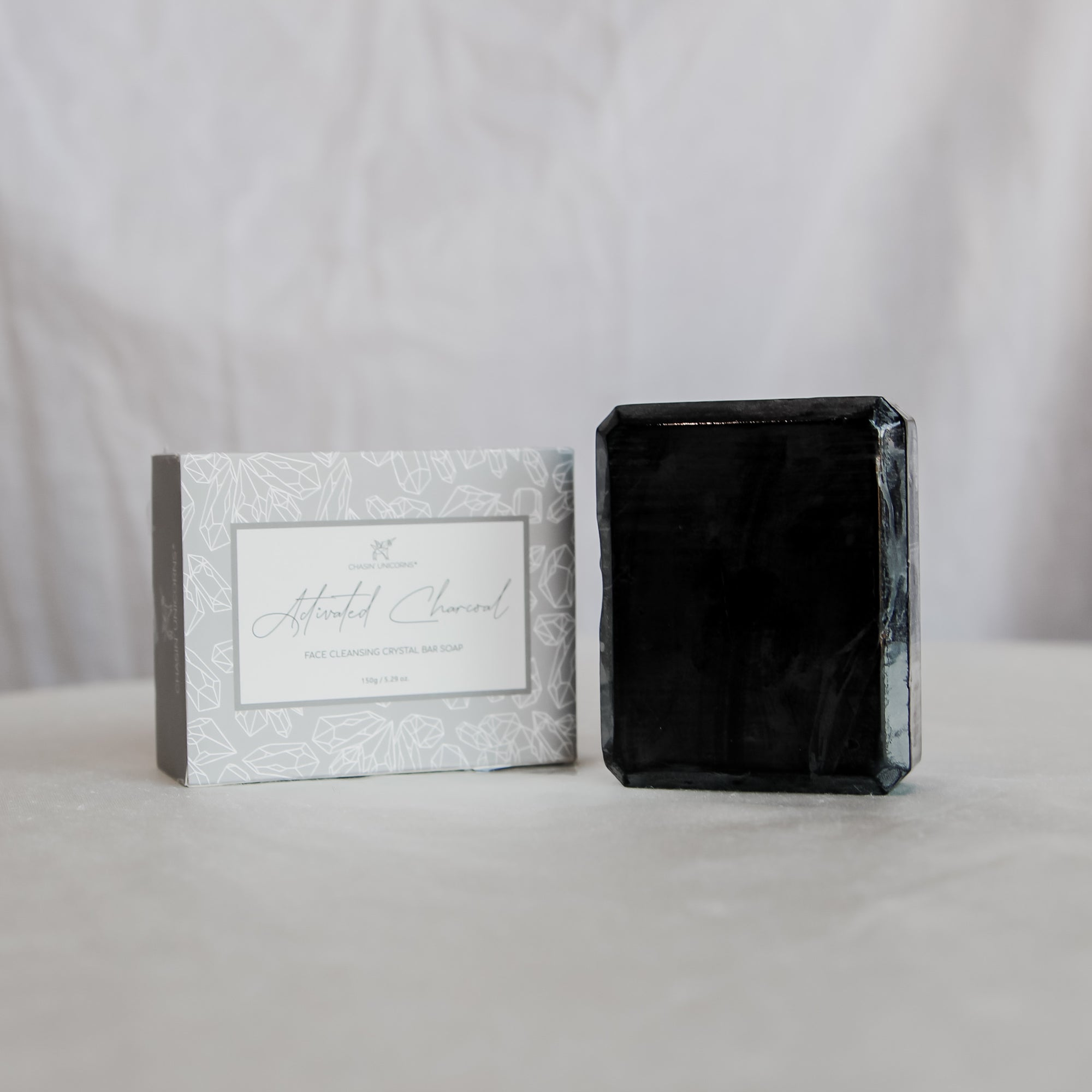 Activated Charcoal Crystal Soap