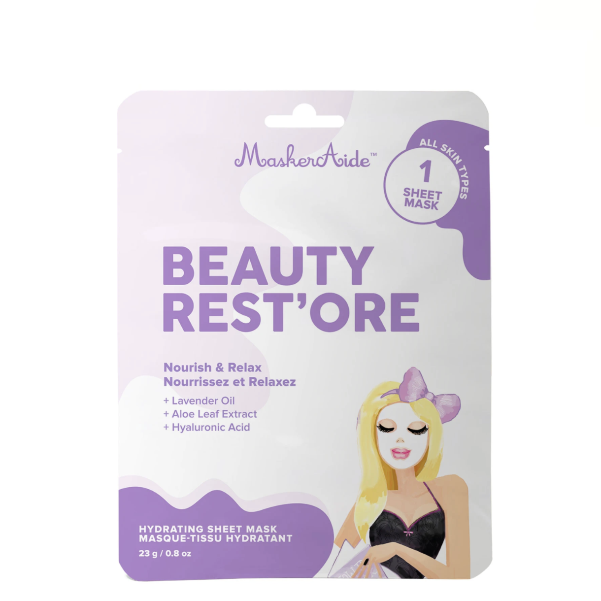 Hydrating Sheet Mask - 2 Pack