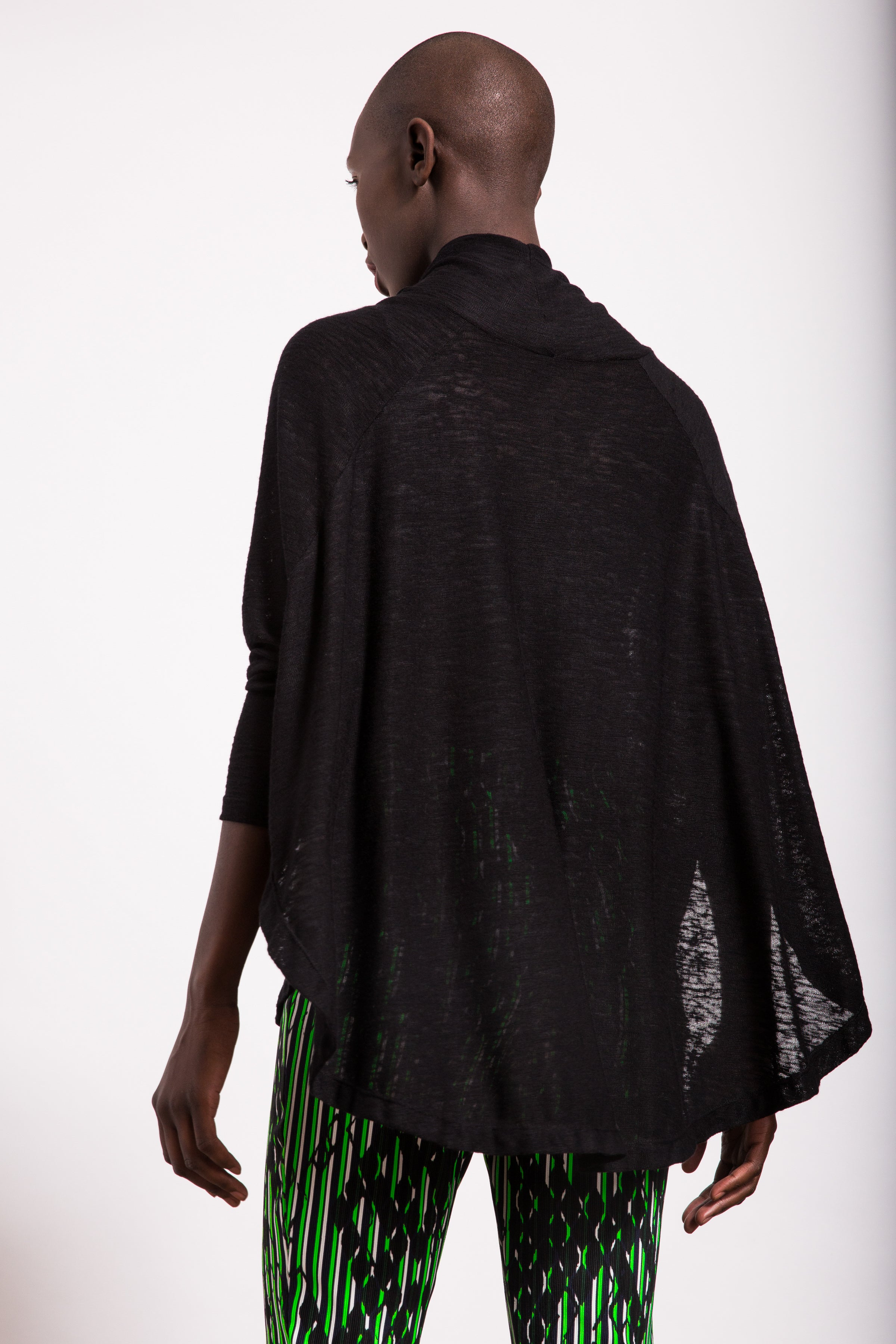 Sleeved Poncho