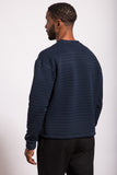 VERY LIMITED EDITION Drop-Stitch Striped Sweatshirt