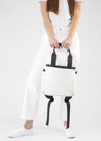 Airbag Backpack - White