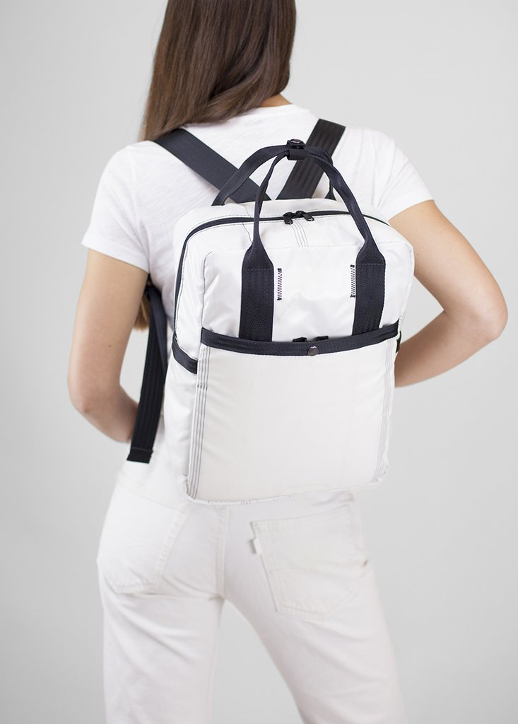 Airbag Backpack - Whitew