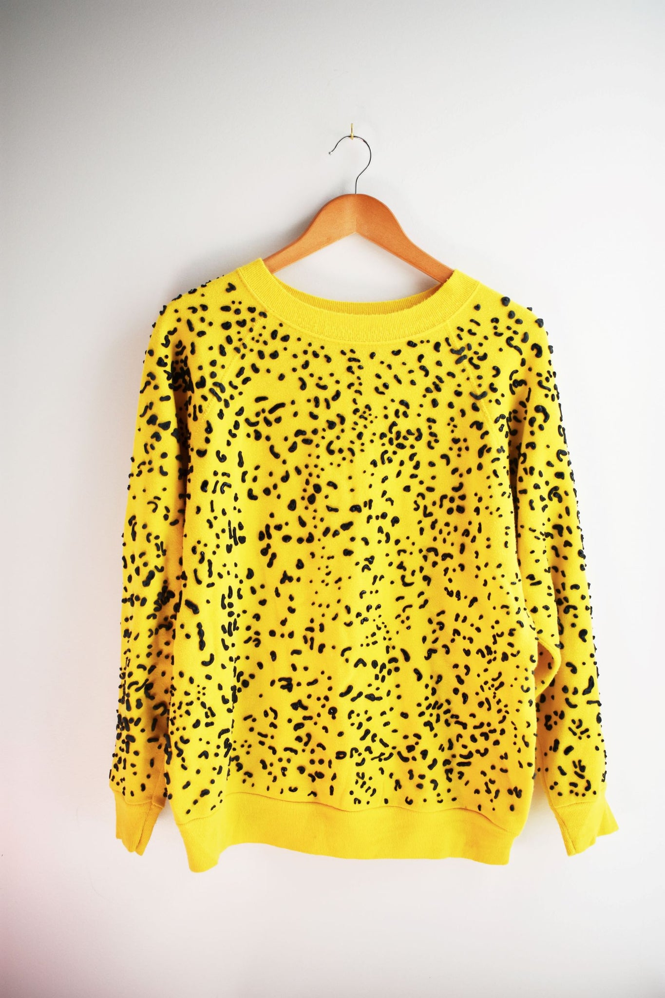 Yellow with Black Marinetti Sweatshirt