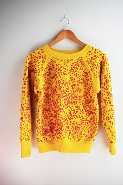 Yellow with Red Marinetti Sweatshirt
