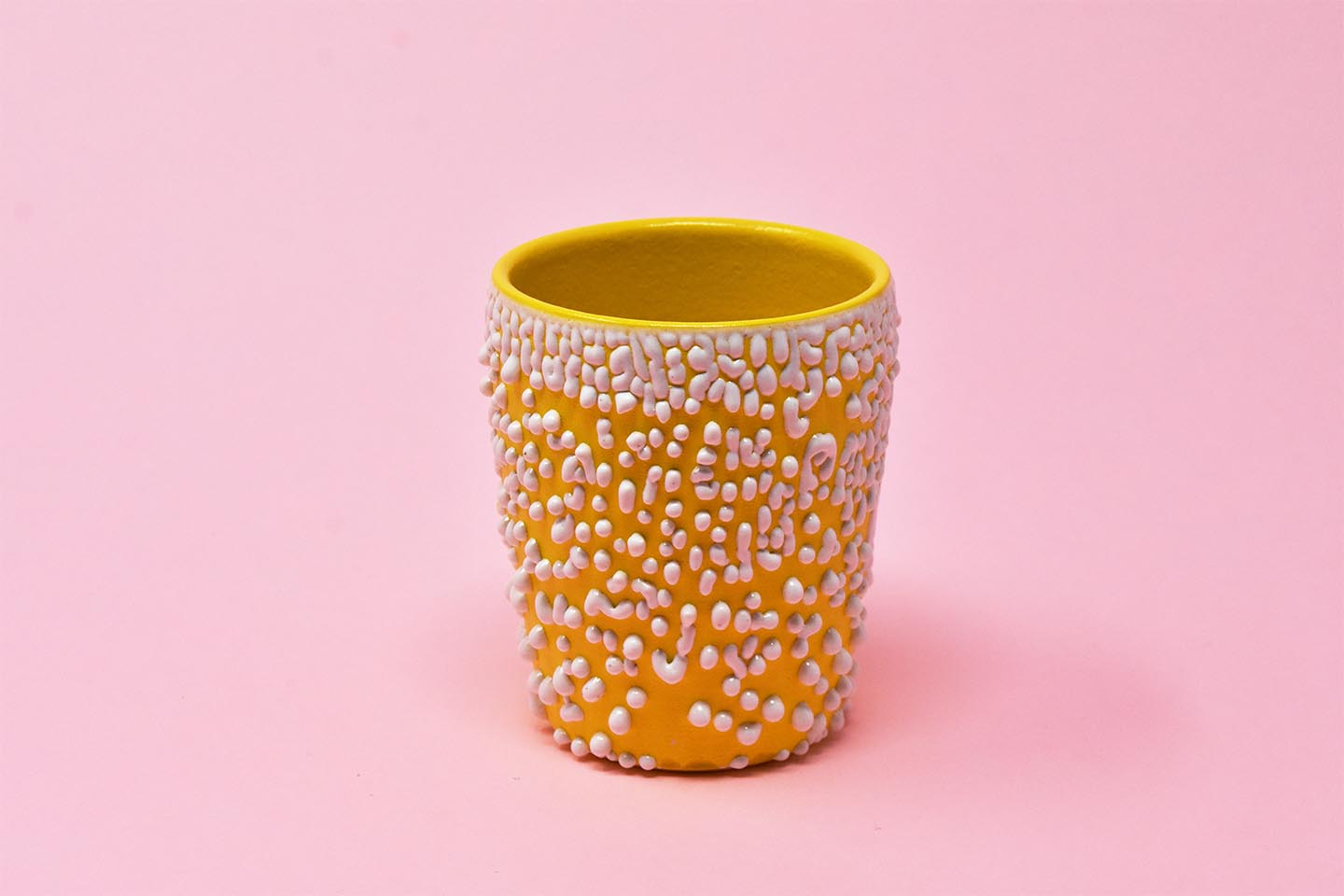 Yellow-Orange Crawl Cup - Yellow