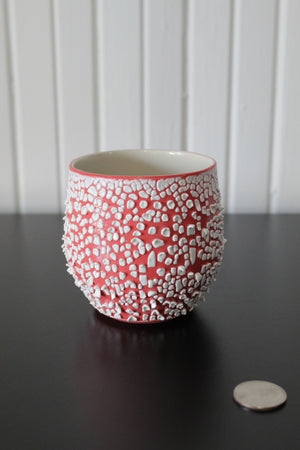 White Crawl Cup - Red 1