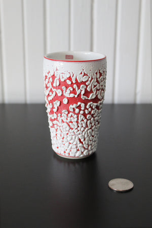 White Crawl Cup - Red 2
