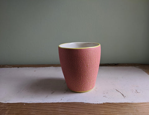 Pink Crawl Cup - Yellow