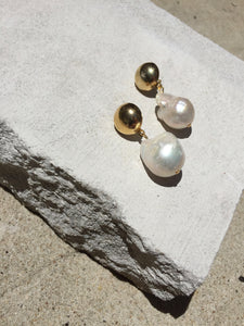 Verona - Baroque Pearl Earrings