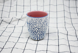 White Crawl Cup - Midnight Blue 2