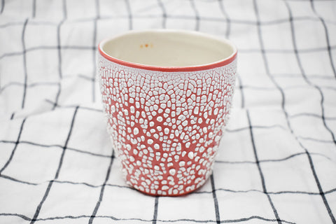 White Crawl Cup - Red 1.0