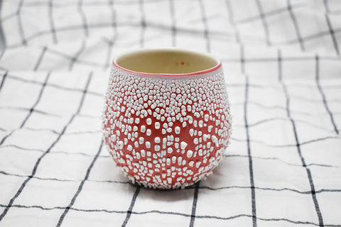 White Crawl Cup - Red 1.5