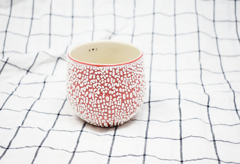 White Crawl Cup - Red 2.2