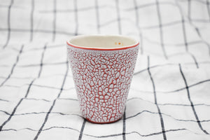 White Crawl Cup - Red 2.0