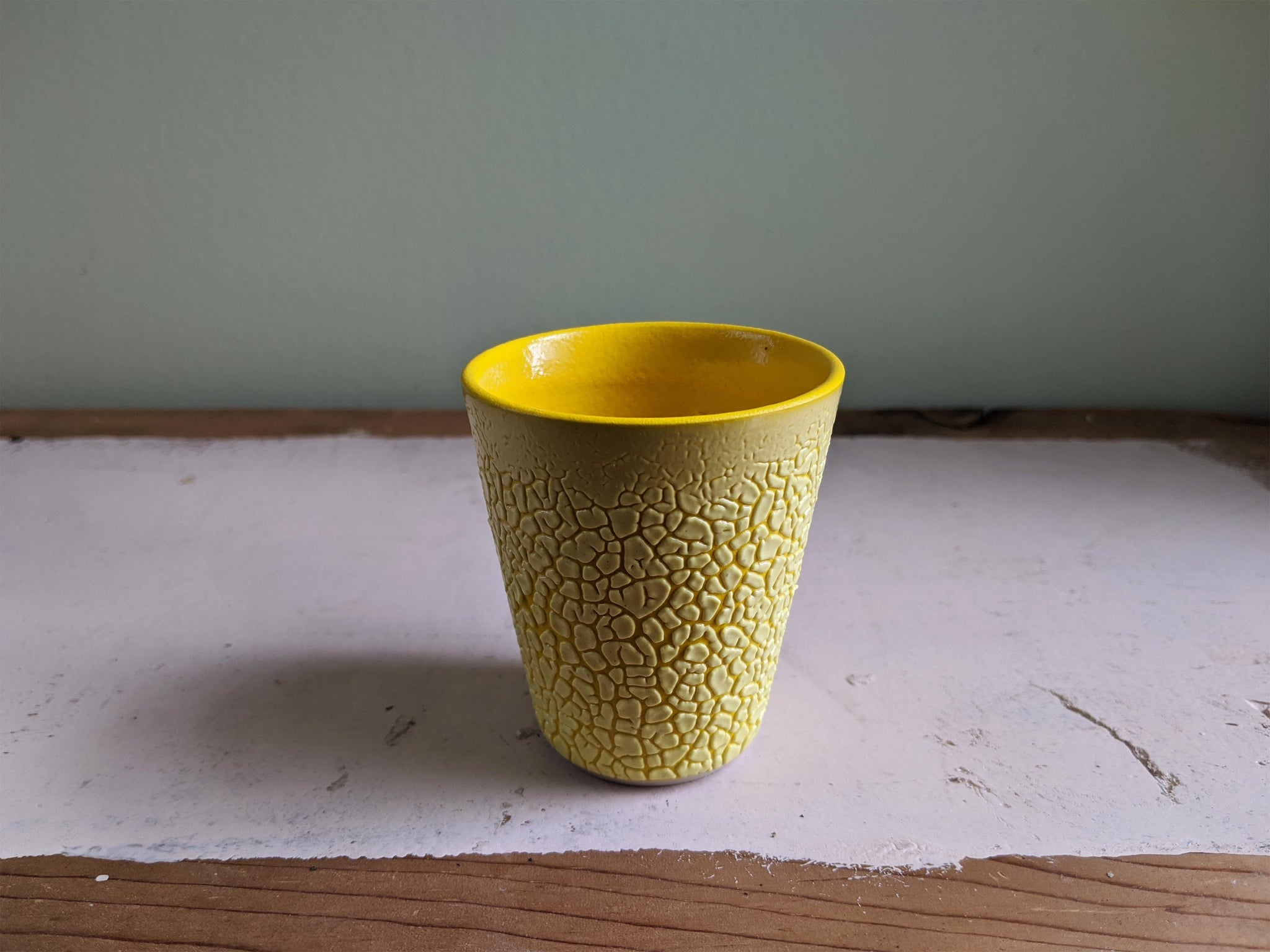 Yellow Crawl Cup - Yellow 2