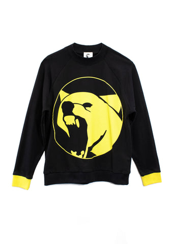 Yellow Wolf Sweatshirt