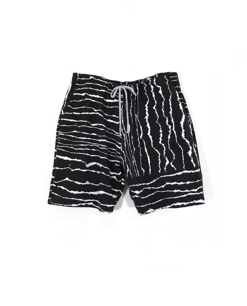 Torn Paper Ponte Shorts
