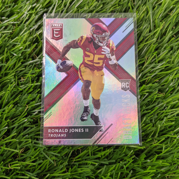 2018 Panini Elite Ronald Jones II #113 Rookie Card RC Ball Down
