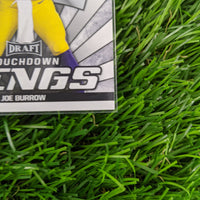 Joe Burrow Leaf Draft Touchdown Kings #85 Rookie Card RC
