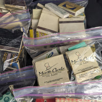 Massive Matchbook Collection! 6 zip locks full! Lots of Las Vegas