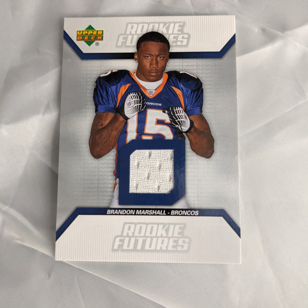 Brandon Marshall Rookie Futures Relic Upper Deck 2006 #RF-BM