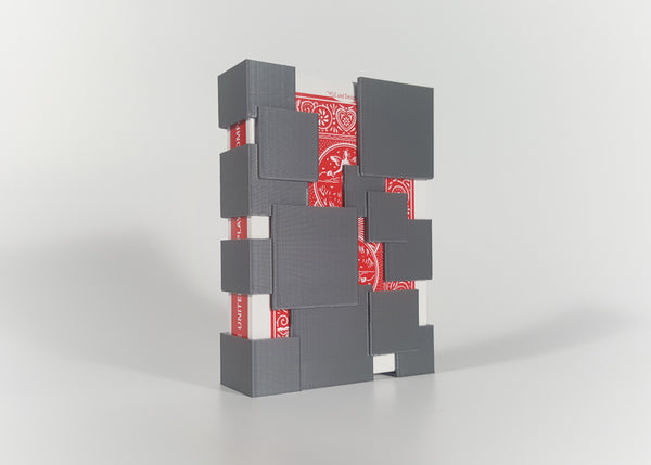 Squared Away Playing Card Case
