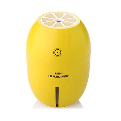 humidificateur d'air en forme de citron jaune
