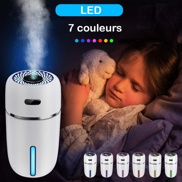 Humidificateur d'Air USB Avec LED Ambiance Zen