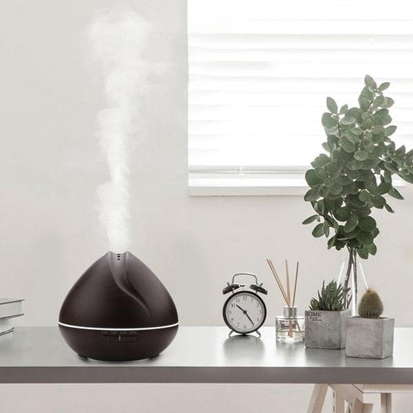 Humidificateur d'Air En Bois et LED - FeelAir - Planet'Air