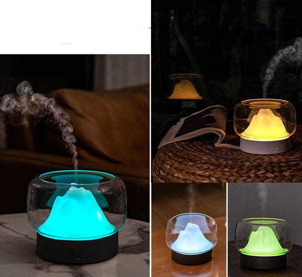 humidificateur d'air en forme de montagne