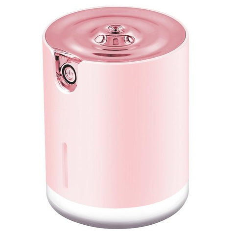 humidificateur d'air à ultrason portable de couleur rose