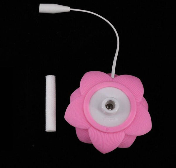 mini humidificateur fleur lotus portable