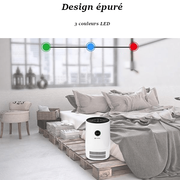Descriptif Purificateur d'Air Haute Performance
