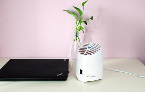 Purificateur d'Air Ionisant et Diffuseur d'Arôme - CoronFlow - Planet'Air