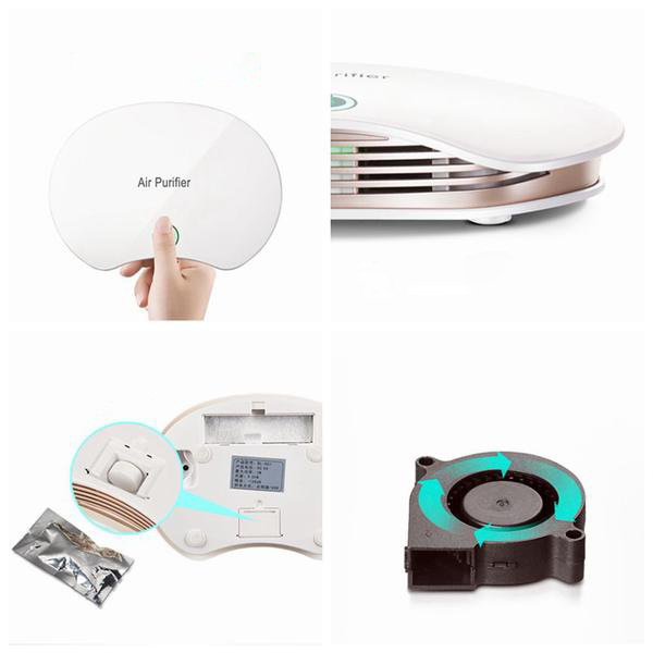 Purificateur d'Air USB Design Pour Voiture -  Air Purifier - Planet'Air