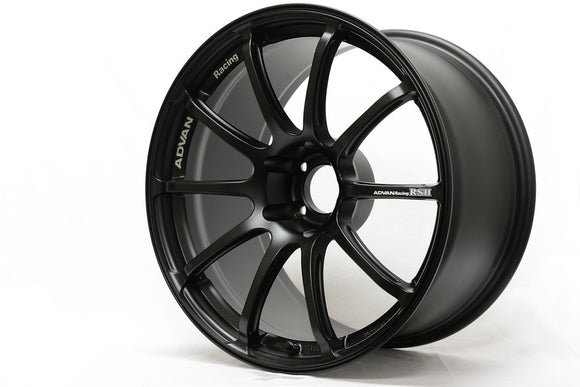 Advan RS II 17x9.5 +35 5x114.3 Semi Gloss Black