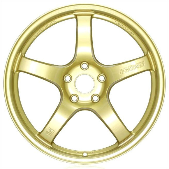 Rays Gram Lights 57CR 18x9.5 +38 5x100 E8 Gold