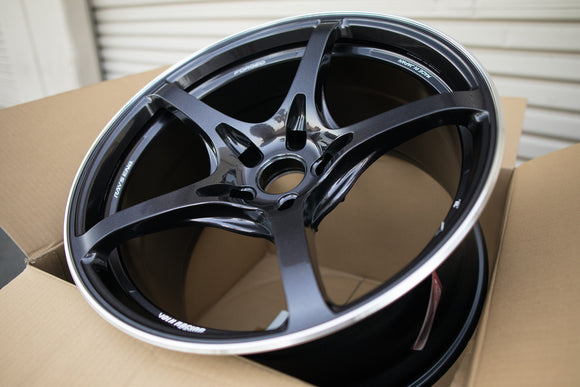 Volk G50 19x9.5 +22, 19x10.5 +22 5x120 Dark Purple Gunmetal