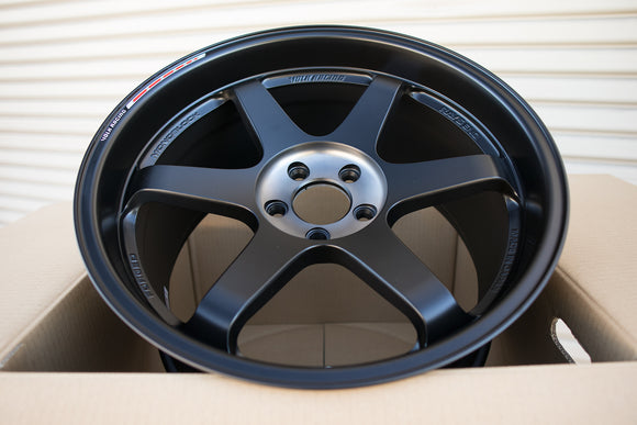 Volk TE37SL Black Edition III 19x9.5 +23, 19x10.5 +34 5x112 Pressed Double Black
