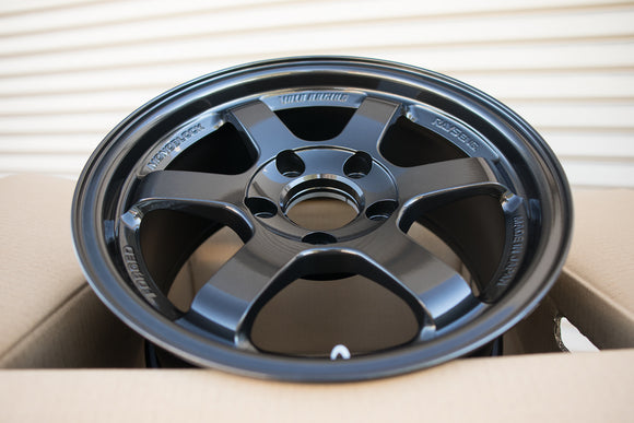 Volk TE37SL 15x8 +32 5x114.3 Diamond Black