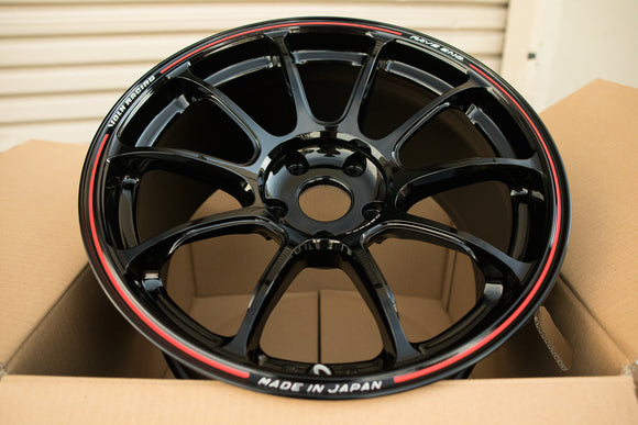 Volk ZE40 Time Attack 18x9.5 +19, 18x10.5 +19 5x120 Black / Redot