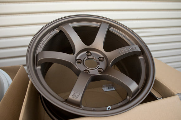 Rays Gram Lights 57DR 19x9.5 +25, 19x10.5 +35 5x112 Bronze 2