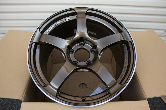 Advan TC4 17x9.5 +50 5x114.3 Umber Bronze Metallic