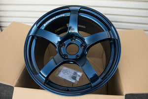 Advan TC4 18x9.5 +38 5x120 Racing Indigo Blue