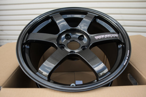 Volk TE37 Saga 18x9.5 +45 5x114.3 Diamond Dark Gunmetal